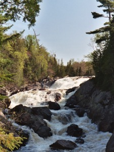 A stretch of the Sand River Falls, in Ontario's Lake Superior Provincial Park