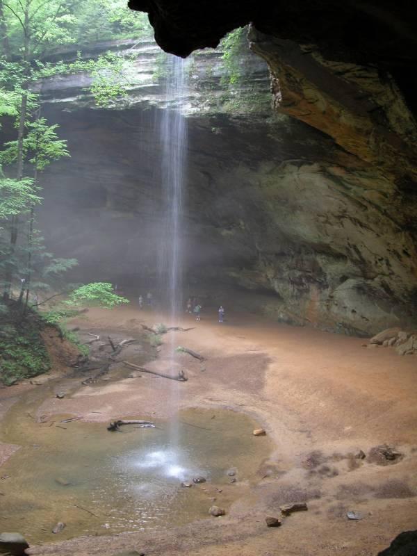 Ash Cave Falls
